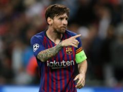 Lionel Messi moved to PSG following his Barcelona exit (Nick Potts/PA)