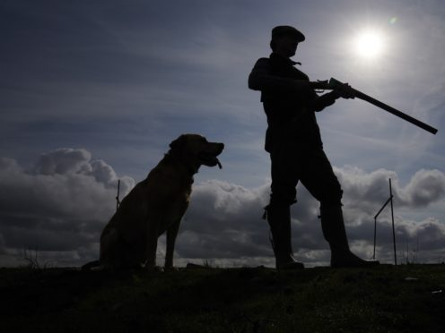 A shooting party on the moors in North Yorkshire, as the Glorious Twelfth, the official start of the grouse shooting season, gets under way (Owen Humphreys/PA)