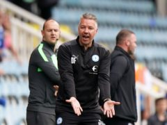 Peterborough manager Darren Ferguson was far impressed at the actions of West Brom boss Valerien Ismael (Tim Goode/PA)
