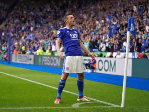 Jamie Vardy scored the winner against Wolves (Nick Potts/PA)