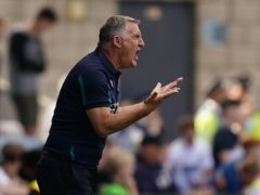 Tony Mowbray's side won at Nottingham Forest (Aaron Chown/PA)