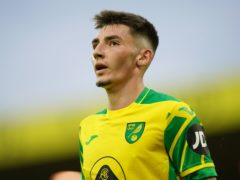 Billy Gilmour made is Norwich debut against Liverpool on Saturday after joining on loan from Chelsea (Joe Giddens/PA).
