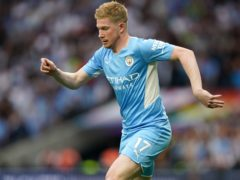 Manchester City star Kevin De Bruyne has had an injury-hit start to the season (Nick Potts/PA)