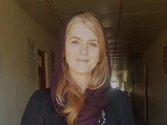 Aoife MacManus who is currently in Kabul (family handout)