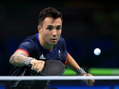 Great Britain's Will Bayley won table tennis gold in Rio (Adam Davy/PA)