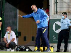 Nuno Espirito Santo's Spurs lost to Pacos de Ferreira (Luis Vieira/AP)