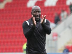 Darren Moore liked what he saw from his team at Rotherham (Isaac Parkin/PA)