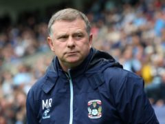 Mark Robins' Coventry fought back to beat Reading (Bradley Collyer/PA)