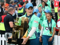 """Oval Invincibles captain Dane Van Niekerk hailed """"incredible"""" wife and teammate Marizanne Kapp for her match-winning performance (Steven Paston/PA)"""