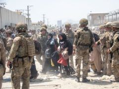 British and US military engaged in the evacuation of people out of Kabul (MoD)