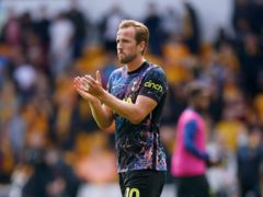 Harry Kane came on in the 72nd minute (David Davies/PA)
