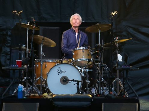 Charlie Watts of The Rolling Stones (PA)