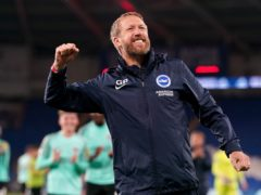Brighton boss Graham Potter is delighted with the work of the club's academy in producing young players (David Davies/PA)