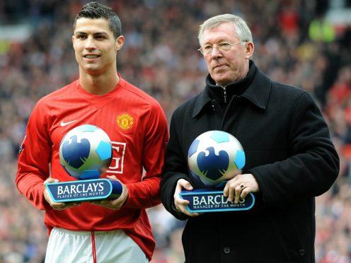 Ronaldo has dedicated his Man Utd return to his former manager (Martin Rickett/PA)