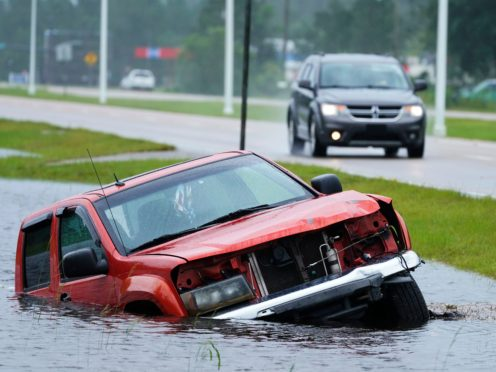 Hurricane Ida knocked out power to all of New Orleans and inundated coastal Louisiana communities on a deadly path through the Gulf Coast (Steve Helber/AP)