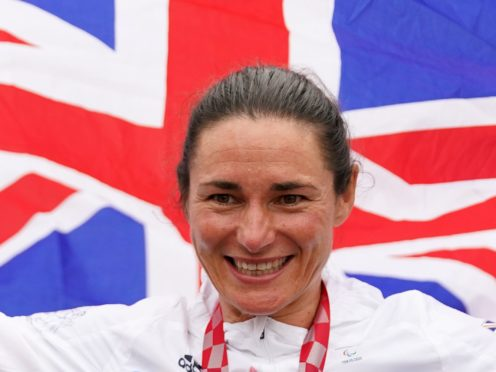 Great Britain's Sarah Storey will attempt to make more history on Thursday (Tim Goode/PA)