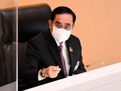 Thailand's prime minister Prayuth Chan-ocha (Public Relations Dept/AP)