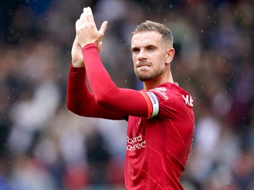 Jordan Henderson has been with Liverpool since 2011 (Mike Egerton/PA).