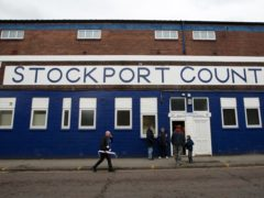 Stockport were held to a goalless draw (Dave Thompson/PA)