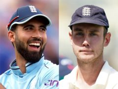 Saqib Mahmood has been added to the England squad as cover for Stuart Broad (Martin Rickett/Mike Egerton/PA)