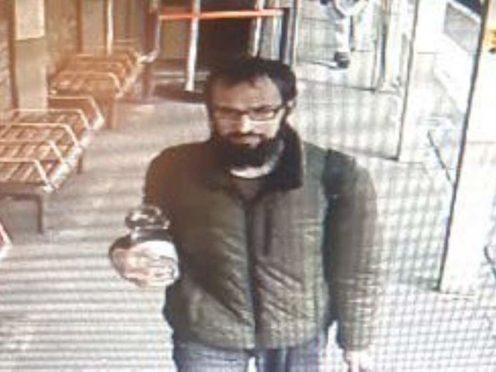 Police wish to speak with a man (Metropolitan Police/PA)