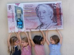 Local children will feature in a social media campaign about the note, telling the public the women who have inspired them the most (RBS/PS)