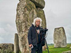 Brian May at Stonehenge (Gareth Iwan Jones/English Heritage/PA)