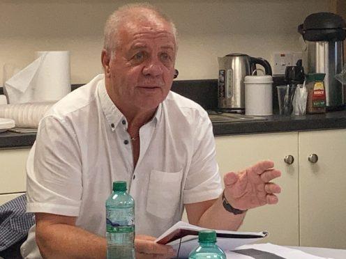 Victims campaigner Raymond McCord condemned the plans (Rebecca Black/PA)