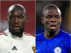 Romelu Lukaku and N'Golo Kante could be available to face Arsenal next weekend (PA)