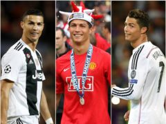 Cristiano Ronaldo has scored goals for Juventus, Manchester United and in particular Real Madrid (Martin Rickett/Nick Potts/Joe Giddens/PA)