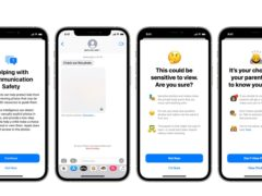 Apple has announced a trio of new child safety tools (Apple/PA)