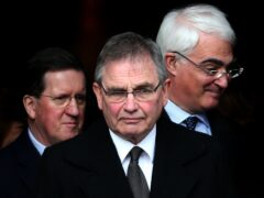 Former UK energy minister Brian Wilson (centre) is to chair a new commission being set up by Scottish Labour (Andrew Milligan/PA)
