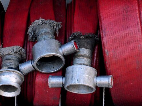 Equipment in a fire engine (Rui Vieira/PA)