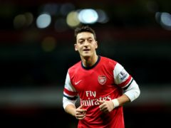 Mesut Ozil joined Arsenal for a club record fee understood to be £43million (Stephen Pond/PA)
