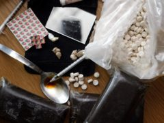 Scotland reported 1,339 deaths from drugs in 2020 (Paul Faith/PA)