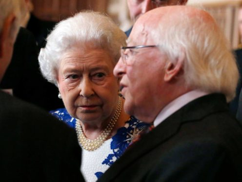 Foreign Affairs Minister Simon Coveney said the Irish Government consulted President Michael D Higgins on an invitation to attend a Northern Ireland centenary event but the decision to decline it was his own (Luke MacGregor/PA)