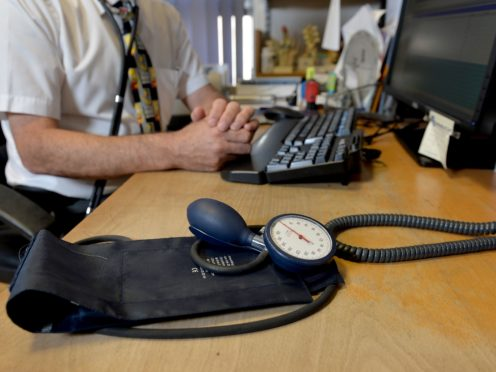 Face-to-face consultations at GP surgeries have been scaled back as a result of the pandemic (Anthony Devlin/PA)