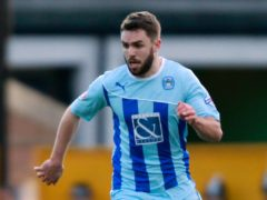 Josh McQuoid was on target for Weymouth (Barrington Coombs/PA).