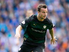Kyle Benedictus scored twice for Raith Rovers (Jeff Holmes/PA)