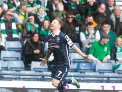 Inverness' Michael Gardyne celebrates scoring (Jeff Holmes/PA)