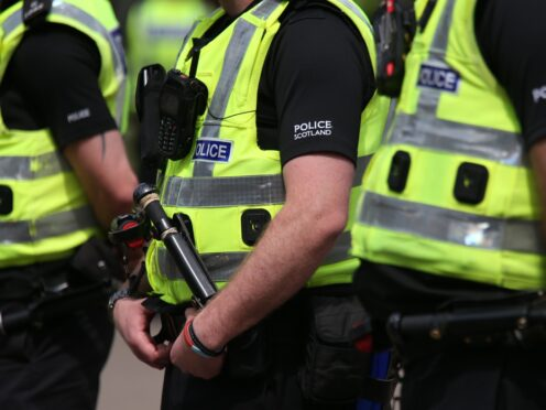 Police recorded nearly 250,000 crimes throughout the year (Andrew Milligan/PA)