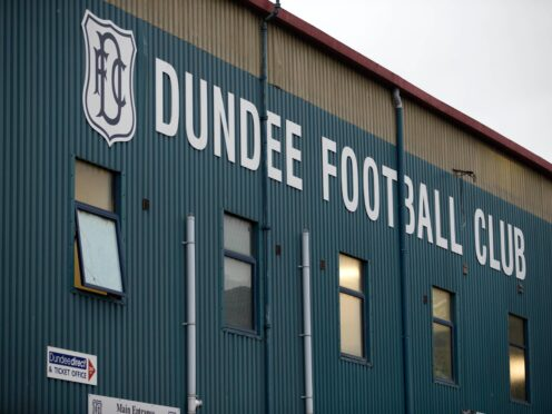 Leigh Griffiths was charged over an incident at Dens Park (Jeff Holmes/PA)