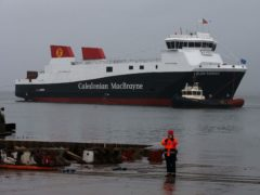 The two ferries currently on order at the yard are set to be four years late and massively over budget (Andrew Milligan/PA)