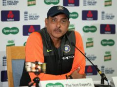 Ravi Shastri is set to stand down as India head coach after the T20 World Cup (Jonathan Brady/PA)