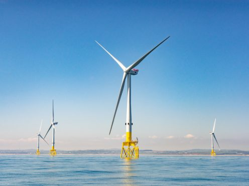 More than 97% of the electricity consumed in Scotland is from renewable sources (Big Partnership/PA)