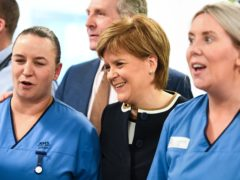 First Minister Nicola Sturgeon said a National Care Service would be 'arguably the most significant public service reform since the creation of the National Health Service' (Jeff J Mitchell/PA)