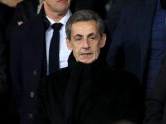 Former French president Nicolas Sarkozy (Mike Egerton/PA)