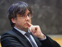 Carles Puigdemont (Niall Carson/PA)