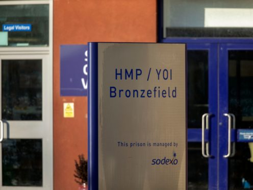 HMP Bronzefield, in Ashford, Surrey (Steve Parsons/PA)