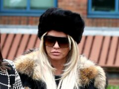 Katie Price was involved in a crash on Tuesday (Steve Parsons/PA)